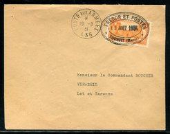 """Maroc -Cachet """" Trésor Et Postes Tounfit """" En 1931 Sur Enveloppe Pour La France - Réf M158 - Morocco (1891-1956)"""