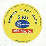 Autocollant ,  Fromage Blanc , CHARENTE-LAIT ,  17 , SURGERES - Autocollants