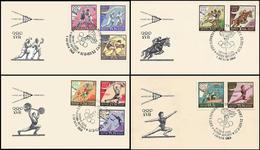 Soviet Union / Russia - 1960 - Olympic Games 1960 - FDC - Verano 1960: Roma
