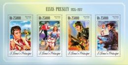 Sao Tome  2014  Elvis Presley - Sao Tome And Principe