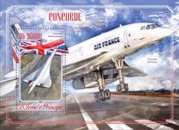 Sao Tome  2014  Concorde, British Airways - Sao Tome And Principe