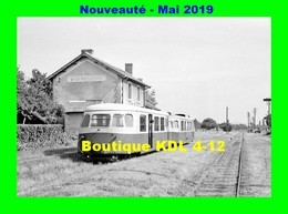 AL 570 - Autorail Billard A 80 D Avec Sa Remorque En Gare - PRIGNY CLESSY - Saône Et Loire - CFD - France