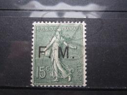 VEND BEAU TIMBRE DE FRANCHISE MILITAIRE DE FRANCE N° 3 , X !!! - Franchigia Militare (francobolli)