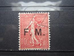 VEND BEAU TIMBRE DE FRANCHISE MILITAIRE DE FRANCE N° 4 , X !!! (b) - Franchigia Militare (francobolli)
