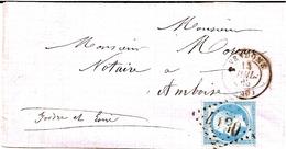 11B---41   VENDOME  Pour Amboise     GC   Type 15 - 1849-1876: Période Classique