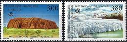 France 1996 - Mi U47/48 - YT S114/115 ( Official : UNESCO - National Parks ) MNH** - Service