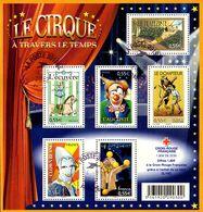 France Oblitération Cachet à Date BF N° 121 Ou 4216 à 4221 Le Cirque - Sheetlets