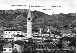 TV096 -  CRESPANO DEL GRAPPA - TREVISO - F.G. - VIAGGIATA 1963 - Treviso