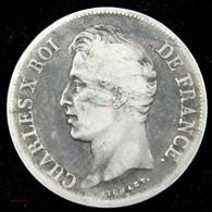 CHARLES X - 5 Francs 1827 T NANTES - J. 5 Francs