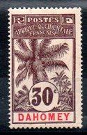 DAHOMEY - YT  N° 25 - Neuf * - MH - Cote: 22,00 € - Dahomey (1899-1944)