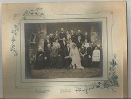 Grande Photo  E. Perraguin Leblanc 27cm X 21cm  Mariage Année 1920????????? - Le Blanc