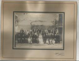 Grande Photo  E. Perraguin Leblanc 27cm X 21cm  Mariage Année 1920????????? 2scannes - Le Blanc