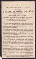Wervik, Wervicq, 1934, Sylvie Deleu, Descamps - Andachtsbilder