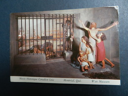 19938) MUSEE HISTORIQUE CANADIEN LTEE CIRQUE ROMAIN NON VIAGGIATA - Montreal
