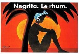 [MD3505] CPM - CINEMA - RIPRODUZIONE - NEGRITA 1976 - BERNARD VILLEMONT - PERFETTA - Non Viaggiata - Manifesti Su Carta
