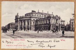 All151 WIEN K.K. HOFBURG Theater VIENNE Österreich 1903 à BERNOT Rue Sèvres Boulogne-Seine  STENGEL DRESDEN - Otros