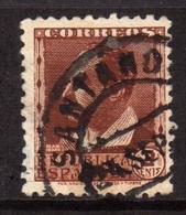 SPAIN ESPAÑA SPAGNA 1931 1934 BLASCO IBANEZ CENT. 2c USATO USED OBLITERE' - 1931-50 Oblitérés