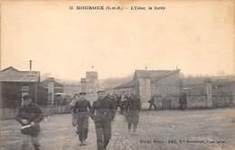 77.n°57431.mouroux.sortie De L'usine.pas Courante - Sonstige Gemeinden