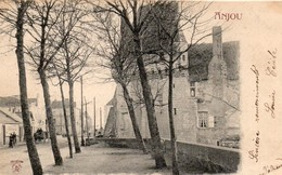 Les Ponts-de-Cé Animée La Mairie Le Château Attelage - Les Ponts De Ce