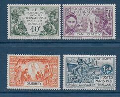 DAHOMEY - Série  N° 99 à 102 **  - Cote : 46,20 € - Unused Stamps