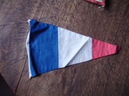Fanion Tissu Drapeau Francais - Obj. 'Souvenir De'
