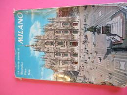 Plan Guide / MILANO/Nuova Planta Giesse/Metropolitana Tramviari Autobus/ITALIE/ 1967     PGC289 - Dépliants Touristiques