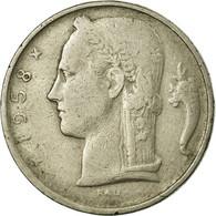 Monnaie, Belgique, 5 Francs, 5 Frank, 1958, TB, Copper-nickel, KM:134.1 - 1951-1993: Baudouin I
