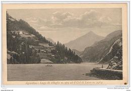 LAGO  DI  ALLEGHE (BL):    AGORDINO  -  LAGO  E  COL  DI  LANA  -  FP - Invasi D'acqua & Impianti Eolici