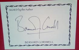 Bernard Cornwall - Bookplates