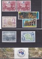 POLYNESIE FRANCAISE POSTE AERIENNE BEAU LOT DE DIVERS OBL. + ** COTE 216 EUROS - Unused Stamps