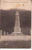 0101A1 CPA 01 - VONGNES  MONUMENT INAUGURE LE 13 MAI 1928 - France