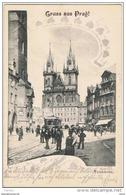 PRAG:  GRUSS  AUS ... -  TEINKIRCHE  -  KLEINFORMAT - Repubblica Ceca