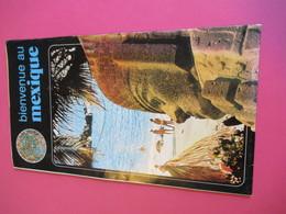 Dépliant Touristique/ Bienvenue Au Mexique/avec Carte Du Pays /Principales Curiosités/MEXIQUE/  1980  PGC291 - Dépliants Touristiques