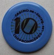 CHARBONNIERES - Ancien Jeton De Casino De Charbonnières - - Casino