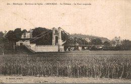 GROLEJAC - LE CHATEAU - LE PONT SUSPENDU - France