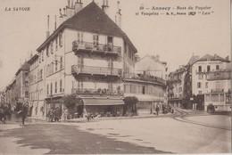 CPA 74. ANNECY. Rues Du Paquier Et Vaugelas - Annecy