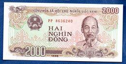 Viêt-Nam   -  2000 Dông 1988 -  Pick # 107  - état  UNC - Viêt-Nam