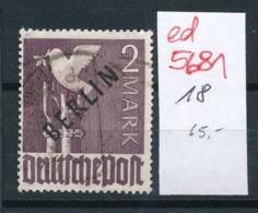 Berlin Nr.  18   (ed5681  ) Siehe Scan - Used Stamps