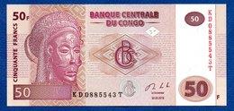 Congo   -  50 Francs 30/06/2013  -  Pick # 97A  - état  UNC - Democratische Republiek Congo & Zaire