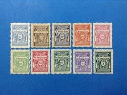 LOTTO 10 MARCHE DA BOLLO NUOVE MNH** EPOCA FASCISTA - Revenue Stamps