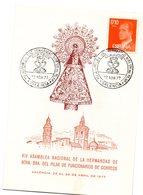 Tarjeta Con Matasellos Nacimiento Hermandad De Nuestra Señora Del Pilar De 1977 - 1931-Hoy: 2ª República - ... Juan Carlos I