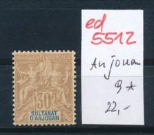 Anjona Nr.9 *   (ed5512  ) Siehe Scan - Anjouan (1892-1912)