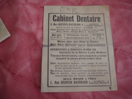Cabinet Dentaire Quentin Bauchard  Moins Cher  Plan Metro Document Commercial - France
