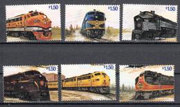 Trein, Train, Locomotive, Eisenbahn Grenada 1999 Mi Nr 3866 - 3871, Postfris - Treinen