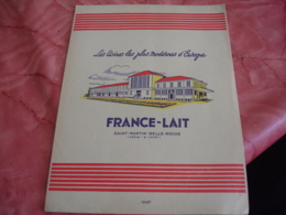 Lot De 5 Protege Cahier Cachiers Biere Dumesnil  France Lait Wood Milne - Book Covers