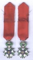Médaille De Chevalier De L'Ordre De La Légion D'Honneur - Ve République ( Miniature ) - France