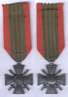Médaille Croix Guerre 1939 - 1940 - France