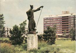 Hungary, Dunaujvaros, Denkmal Somogyi Joszef, Gebraucht - Used 1965 - Hungría