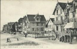 Le Touquet - Paris Plage - Boulevard De La Mer ( Côté Nord ) - Le Touquet