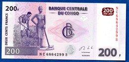 Congo   -  200 Francs 30/06/2013  -  Pick # 99  - état  UNC - Democratische Republiek Congo & Zaire